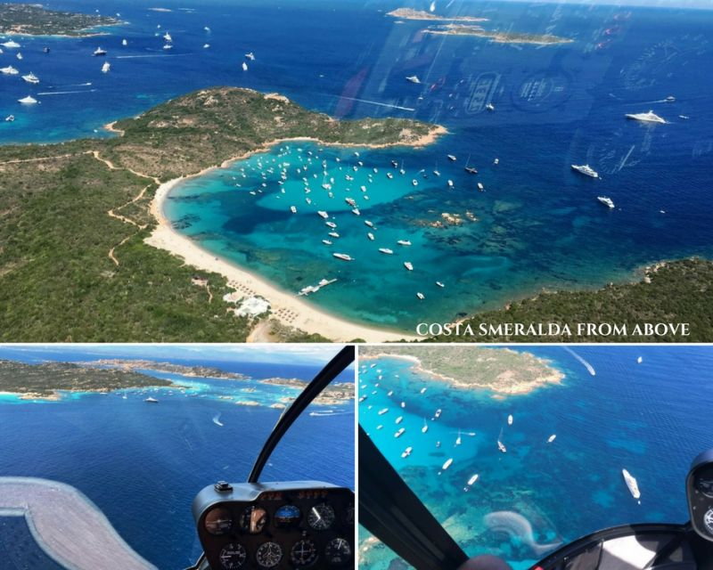 5 - Experience 50 shades of turquoise from an helicopter tour