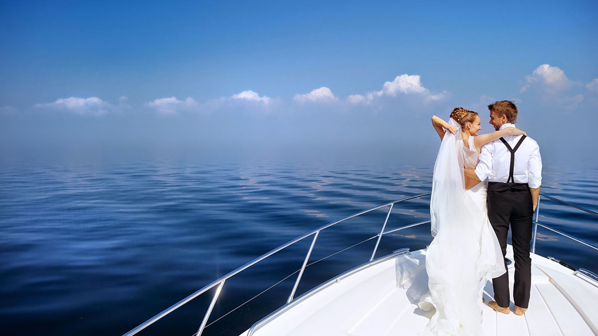 The most romantic getaway: A honeymoon yacht charter in Italy